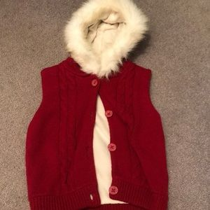 Girls Gymboree vest